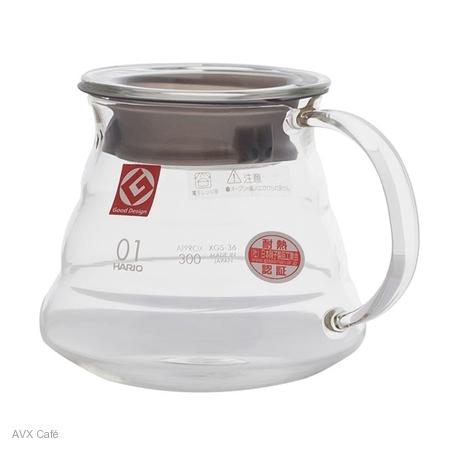 Hario V60 360ml Range server üveg fül