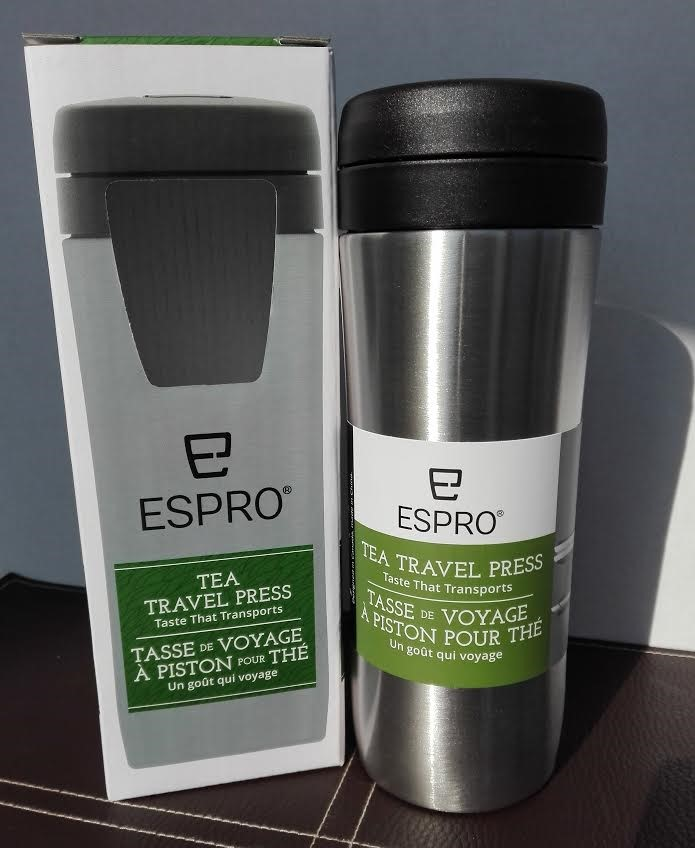 Espro Travel Press 350ml teához saválló acél