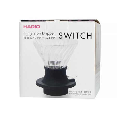 Hario Immersion Switch Coffee Dripper + Filter papír